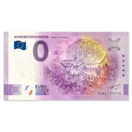 "0 Euro Biljet ""Hunebedbouwers"""