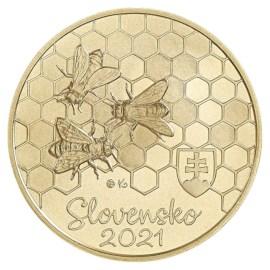 "Slowakije 5 Euro ""Honingbij"" 2021"