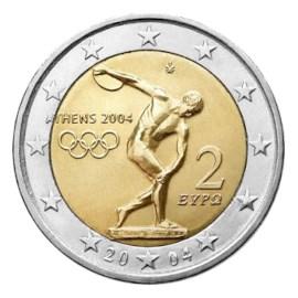 "Griekenland 2 Euro ""Olympia"" 2004"
