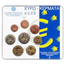 Greece BU Set 2002