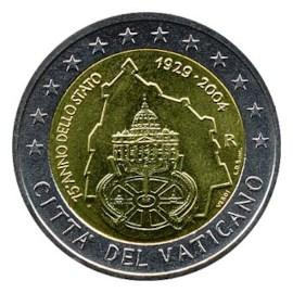 """Vaticaan 2 Euro """"75 jaar Souvereiniteit"""" 2004"""