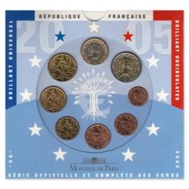 Frankrijk BU Set 2005