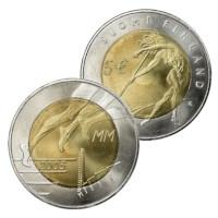"""Finlande 5 Euro """"Athlétisme"""" 2005"""