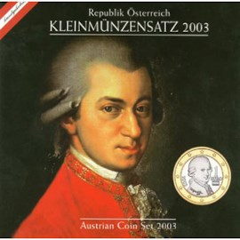 Austria BU Set 2003