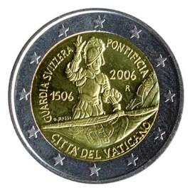 "Vaticaan 2 Euro ""Zwitserse Garde"" 2006"