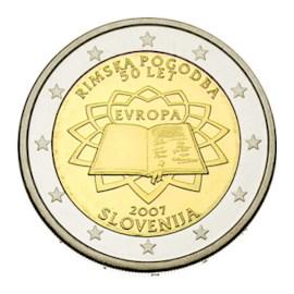 """Slovenië 2 Euro """"Rome"""" 2007"""