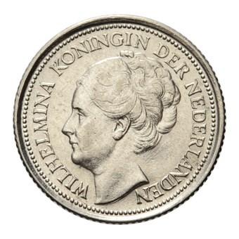 10 Cent 1935 Wilhelmina Pr-