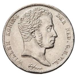 1/2 Gulden 1819 Willem I Pr+