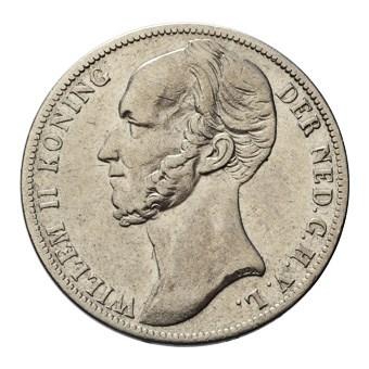 1 Gulden 1847 Willem II ZFr-