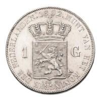 1 Gulden 1892 Wilhelmina Pr