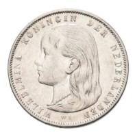 1 Gulden 1897 Wilhelmina ZFr