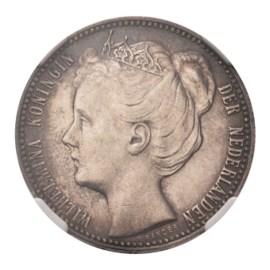 1 gulden 1906 Wilhelmina Pr+