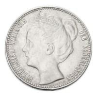 1 gulden 1909 Wilhelmina ZFr