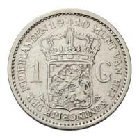 1 Gulden 1910 Wilhelmina ZFr