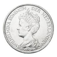 1 gulden 1911 Wilhelmina Pr+
