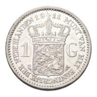 1 Gulden 1911 Wilhelmina Pr