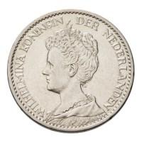 1 Gulden 1911 Wilhelmina Pr-