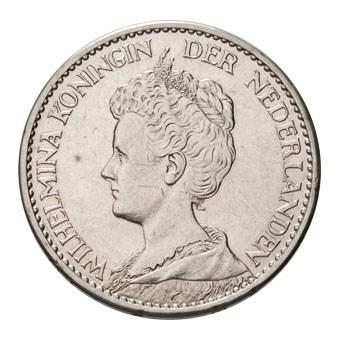 1 Gulden 1913 Wilhelmina Pr-