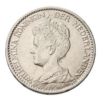 1 Gulden 1914 Wilhelmina Pr-