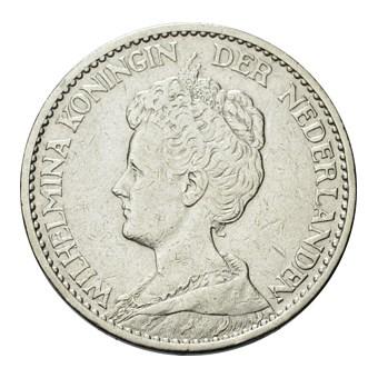 1 Gulden 1914 Wilhelmina ZFr-