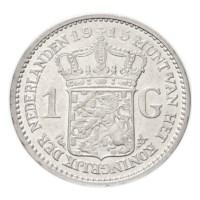1 gulden 1915 Wilhelmina Pr-