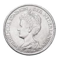 1 Gulden 1916 Wilhelmina Pr+