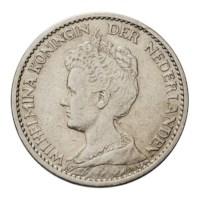 1 Gulden 1916 Wilhelmina ZFr -