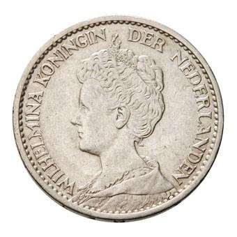 1 Gulden 1917 Wilhelmina ZFr-