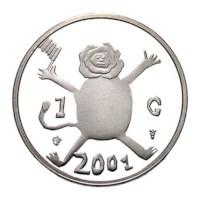 De Laatste Gulden 2001 Zilver Proof