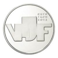 5 Euro 2012 Beeldhouwkunst Proof