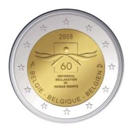 "België 2 Euro ""Mensenrechten"" 2008 UNC"