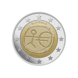"Slovenië 2 Euro ""10 Jaar EMU"" 2009"