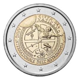 """Vaticaan 2 Euro """"Astronomie"""" 2009"""