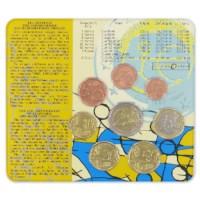 """Griekenland BU Set 2009 met 2 Euro """"10 Jaar EMU"""""""