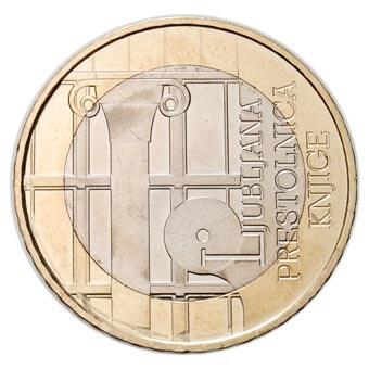 """Slovenië 3 Euro """"Ljubljana"""" 2010"""
