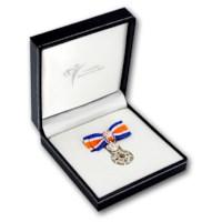 Miniatuur Oranje-Nassau Civiel Ridder Dames in etui