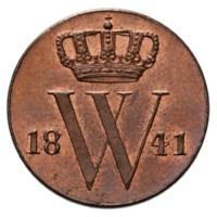½ cent 1841.