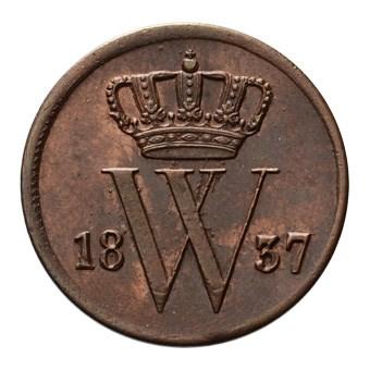 1 Cent 1837 Willem I Pr