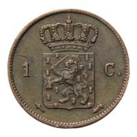 1 Cent 1862 Willem III ZFr
