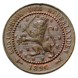 1 Cent 1896 Wilhelmina FDC
