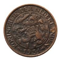 1 Cent 1931 Wilhelmina ZFr