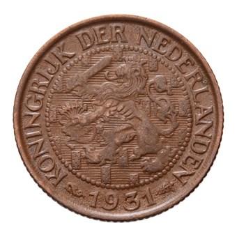 1 Cent 1931 Wilhelmina ZFr-