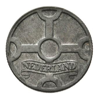 1 Cent 1942 Duitse bezetting zink Pr+