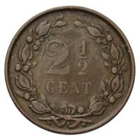 2 1/2 Cent 1894 Wilhelmina ZFr-