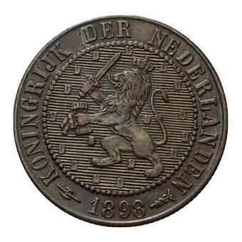 2 1/2 Cent 1898 Wilhelmina ZFr