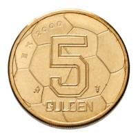 5 gulden EK 2000 UNC