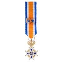 Miniatuur Oranje-Nassau Civiel Grootofficier Heren in etui