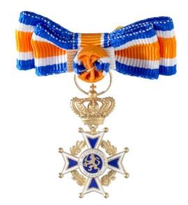 Miniatuur Oranje Nassau Civiel Grootofficier Dames in etui