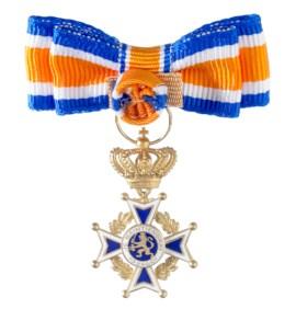 Miniatuur Oranje Nassau Civiel Ridder Grootkruis Dames in etui