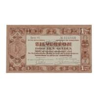 1 Gulden 1938 Zilverbon UNC